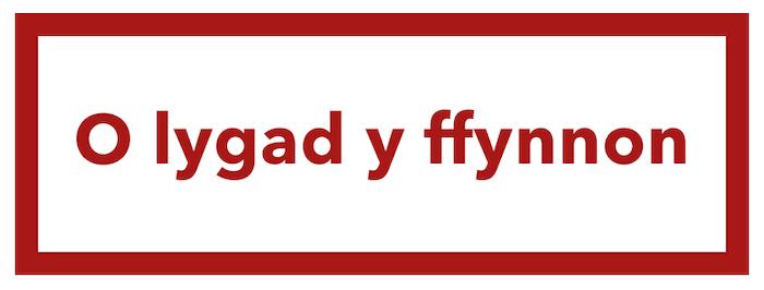 o lygad y ffynnon