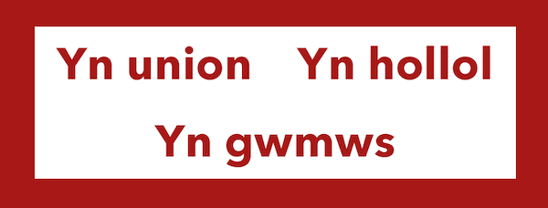The Welsh word for exactly is yn union, yn hollol, yn gwmws.